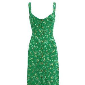 Faithfull The Brand green summer dress